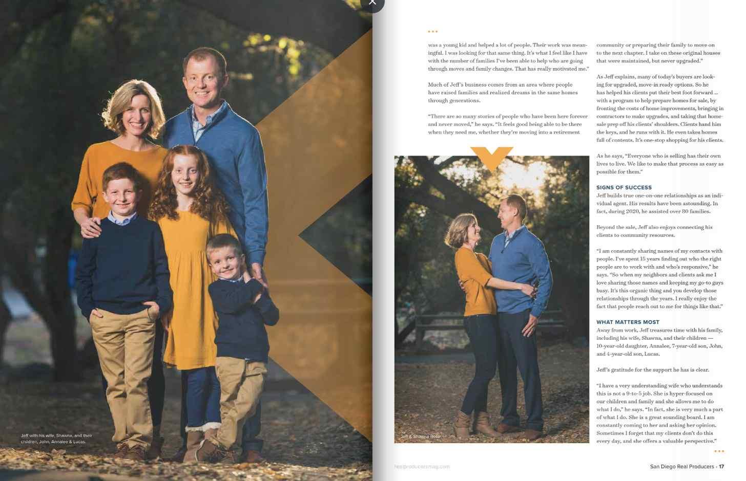Jeff Rosa Family